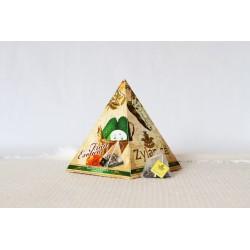 SOURSOP a OKVĚTNÍ LÍSTKY pyramidy