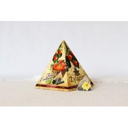 JAHODA, KIWI a OKVĚTNÍ LÍSTKY pyramidy